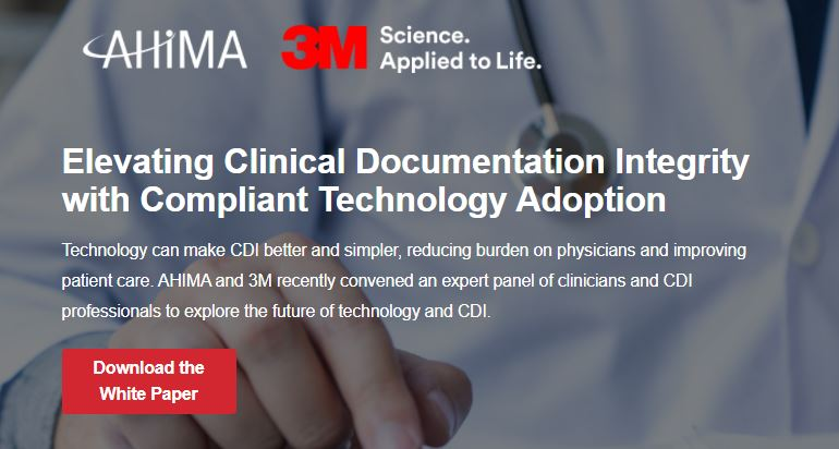 Elevating clinical documentation integrity with compliant technology adoption
